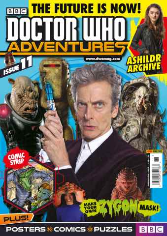 Doctor Who Adventures Magazine issue Issue 11 04/02/2016