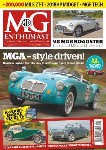 MG Enthusiast issue Vol. 46 No. 3 MGA - style driven