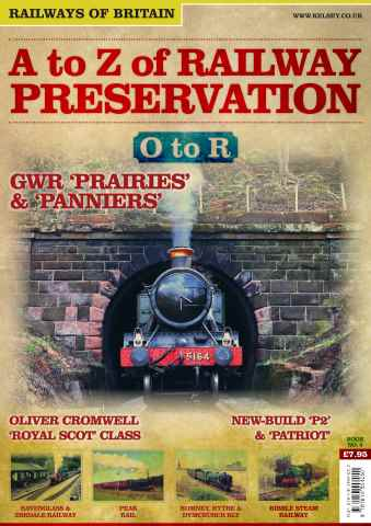 Railways of Britain issue No. 5 A-Z of Railway Preservation: O-R