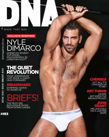 DNA Magazine issue # 193 - Underwear