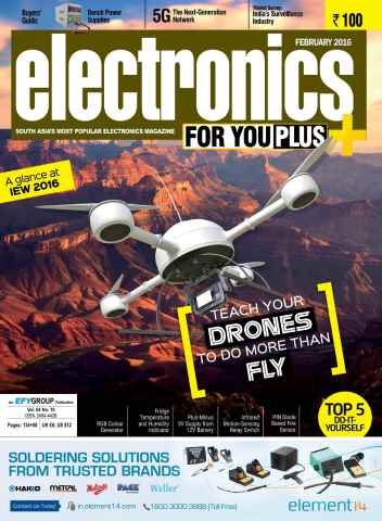 Electronics For You issue February 2016