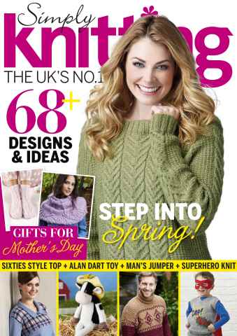 Simply Knitting issue March 2016
