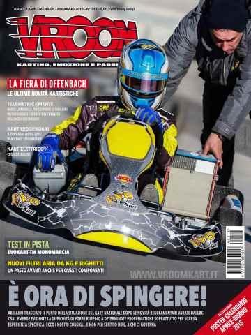 Vroom Italia issue n. 318 - Febbraio 2016