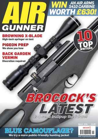 Airgunner issue March 2016