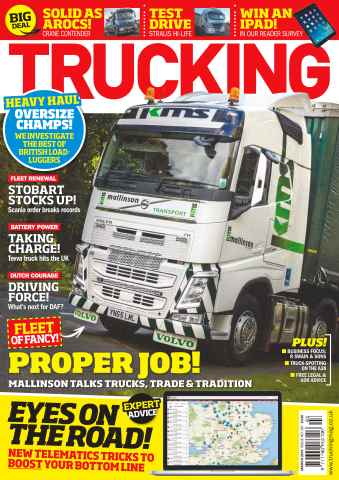 Trucking Magazine issue No. 387 Proper Job!