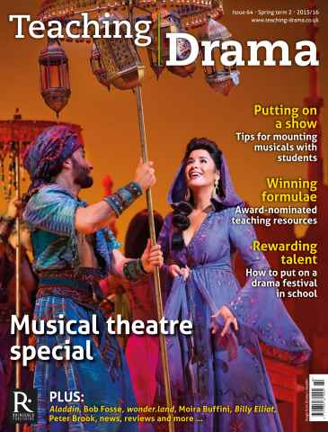 Teaching Drama issue Spring 2 - 2015/16