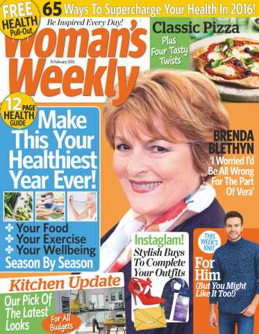 Womans Weekly issue 16th February 2016