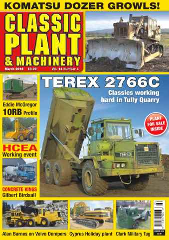 Classic Plant & Machinery issue Vol. 14 No. 4 Terex 2766C