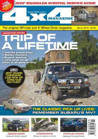 4x4 Magazine issue No. 385 Trip Of A Lifetime