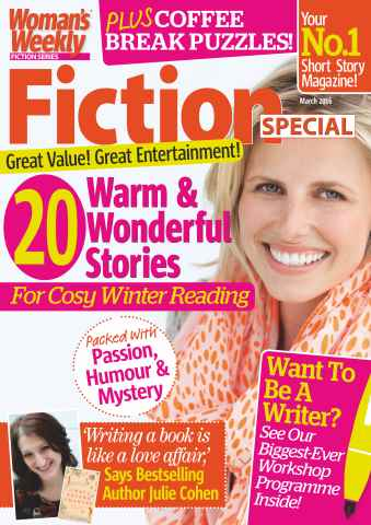 Womans Weekly Fiction Special issue March 2016