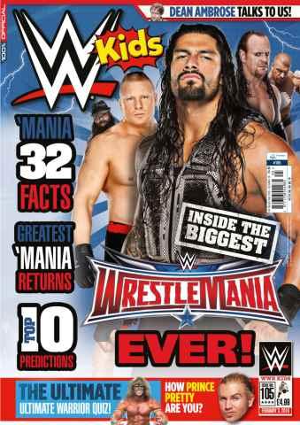 WWE Kids issue No.105