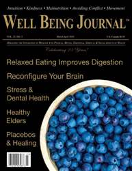 Well Being Journal issue March/April 2016