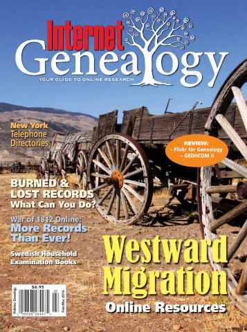 Internet Genealogy issue Feb-Mar 2016