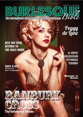 Burlesque Bible issue February 2016  (Winter 2016)
