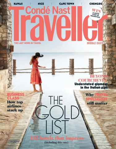 Conde Nast Traveller Middle East issue February 2016