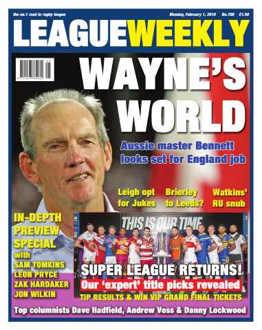 League Weekly issue 01/02/2016