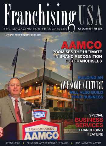 Franchising USA issue February 2016