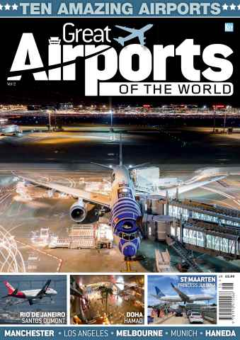 Aviation Specials issue Great Airports of the World Vol.2