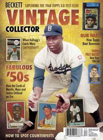 Vintage Collector issue Vintage Collector 2015