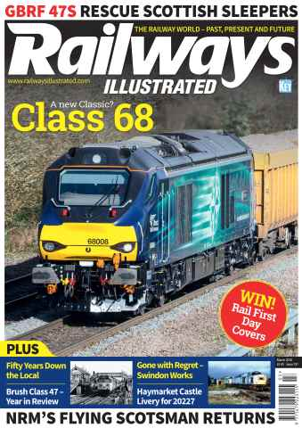 Railways Illustrated issue March 2016