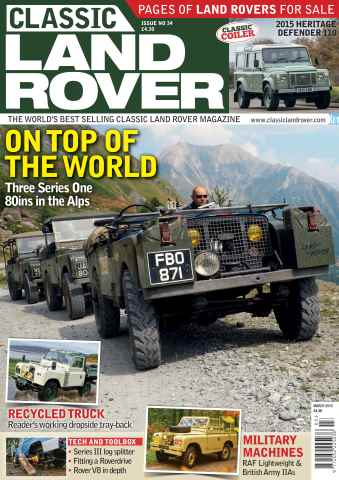 Classic Land Rover Magazine issue March 2016