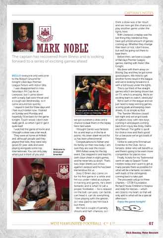 West Ham Utd Official Programmes Preview 7