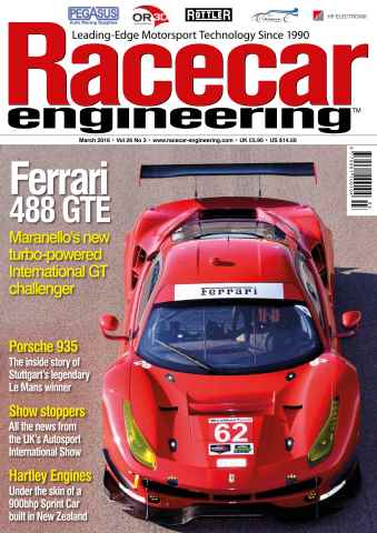 Racecar Engineering issue March 2016