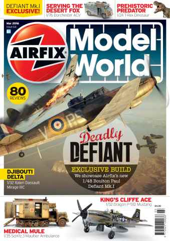 Airfix Model World issue March 2016