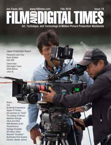 Film and Digital Times issue Feb 2016 - Issue 74