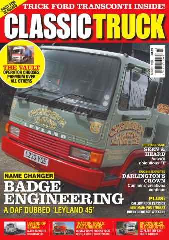 Classic Truck issue No. 23 Badge Engineering