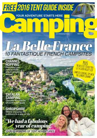 Camping issue March 2016