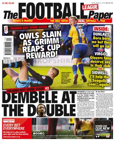 The Football League Paper issue 31st January 2016