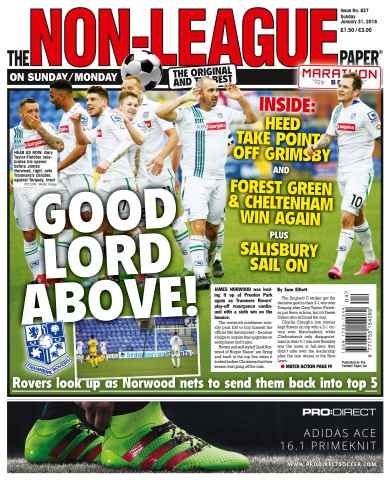 The Non-League Football Paper issue 31st January 2016