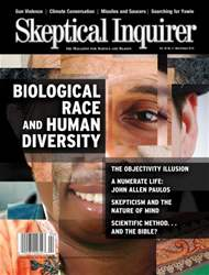 Skeptical Inquirer issue March April  2016