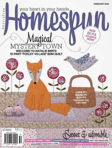 Homespun issue Issue#17.2 Feb 2016