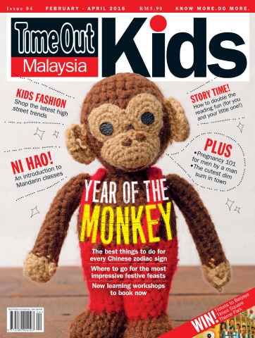 Time Out Malaysia issue Time Out Kids: Feb 2016 - April 2016