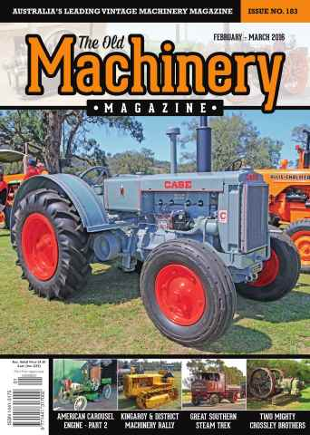The Old Machinery Magazine issue February March
