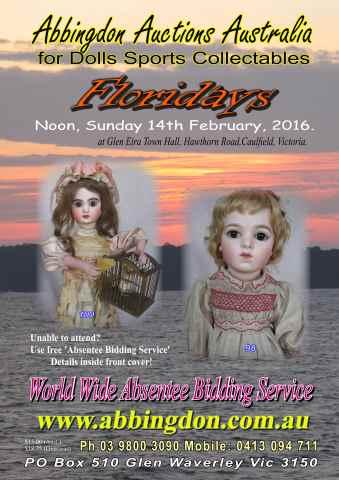 Abbingdon Auctions issue Floridays