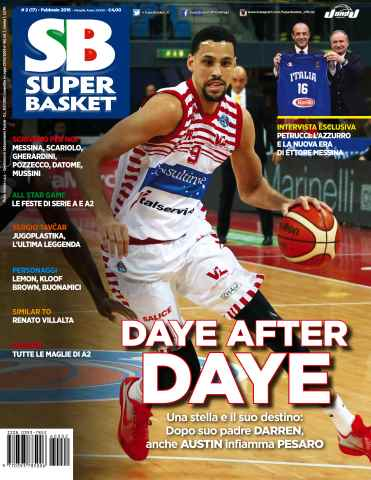 Superbasket issue Febbraio 2016