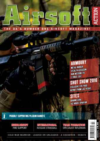 Airsoft Action issue March 2016