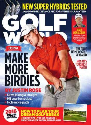 Golf World issue April 2016