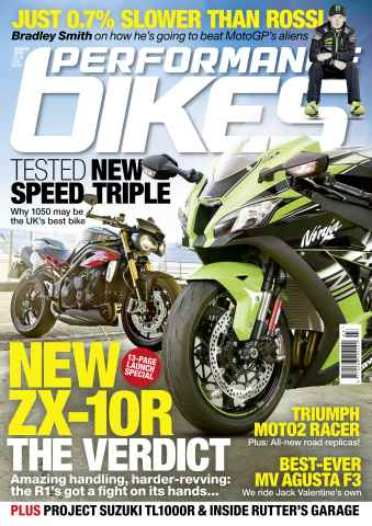 Performance Bikes issue March 2016