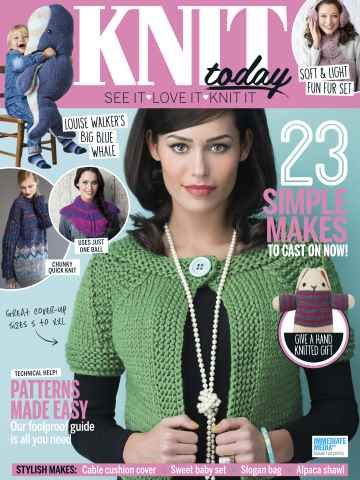 Knit Today issue March 2016