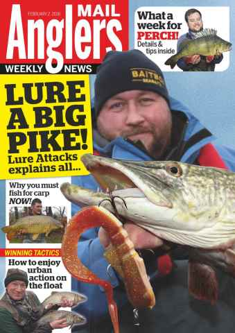 Anglers Mail issue 2nd February 2016