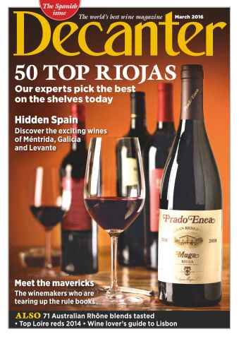 Decanter issue March 2016