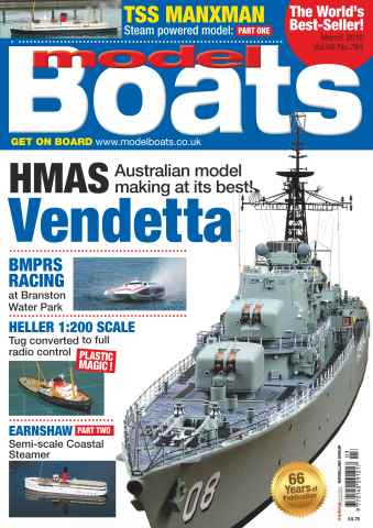 Model Boats issue March 2016