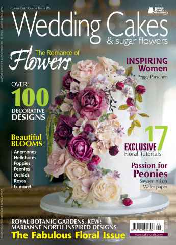 Cake Craft Guides issue Issue 26 - Wedding Cakes & Sugar Flowers