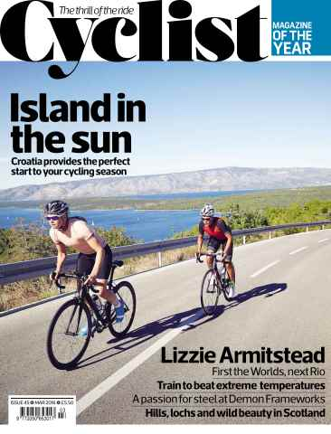Cyclist issue March 2016