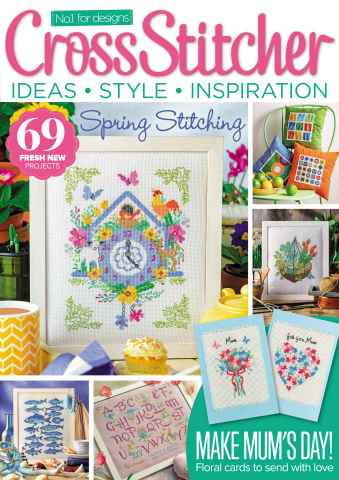 CrossStitcher issue March 2016