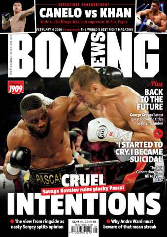 Boxing News International issue 02/02/2016